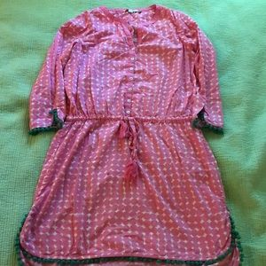 Boden girls bathing suit cover up sz 14
